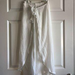 White Flow Pants